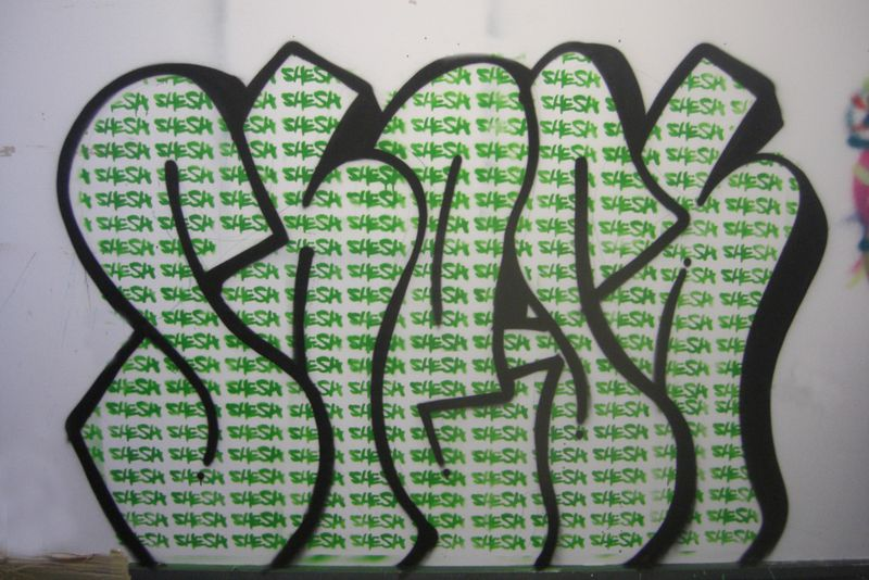 Green throwup